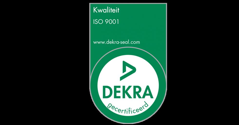 Wij zijn ISO 9001:2015 gecertificeerd
