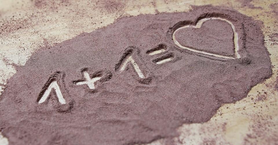 Liefde, Hart, Samen, Aftelkalender Voor Valentijnsdag